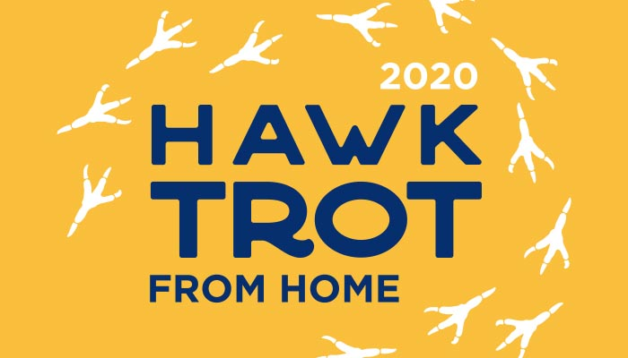 Hawk Trot from Home