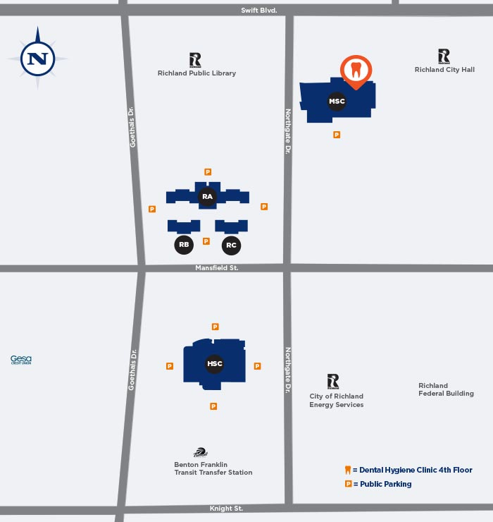 Richland Campus Map